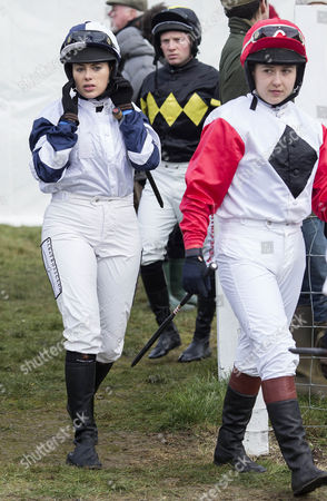 Editorial photo of Vine and Craven Point to Point at Barbury Castle, Marlborough, Britain - 14 Feb 2016
