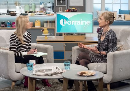 Fiona Phillips with Amelia Bullmore