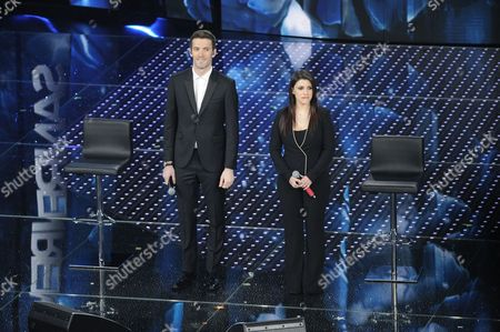 Giovanni Caccamo and Deborah Iurato