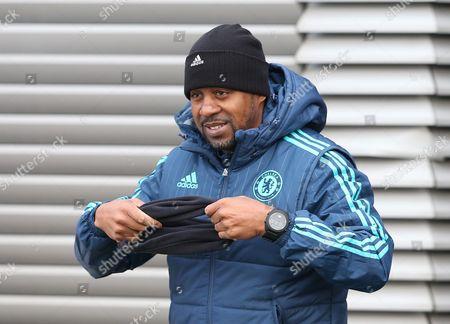 Chelsea assistant Coach Eddie Newton