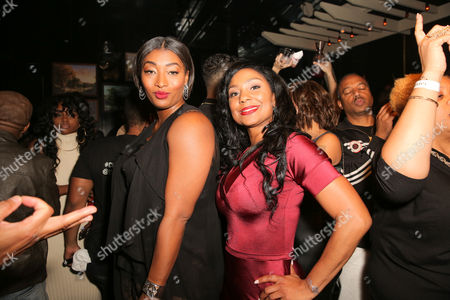 Stock Picture of Toccara Jones, Joi Brown