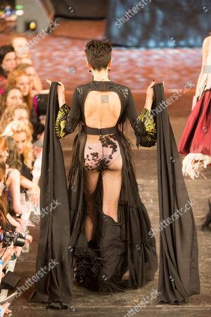 Editorial image of Fashion show at Cambridge University, Britain - 13 Feb 2016