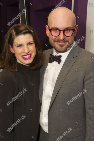 Jemima Rooper (Jessica) and Robert Askins (Author)