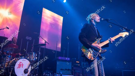 Editorial photo of Kula Shaker in concert at The O2 ABC, Glasgow, Scotland, Britain - 15 Feb 2016