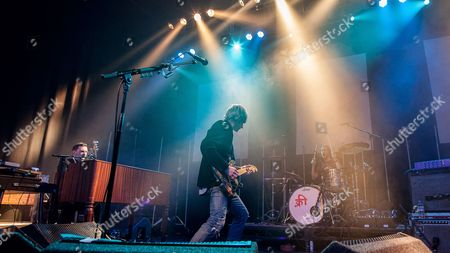 Editorial image of Kula Shaker in concert at The O2 ABC, Glasgow, Scotland, Britain - 15 Feb 2016