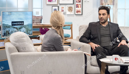Fiona Phillips with Pasha Bocarie