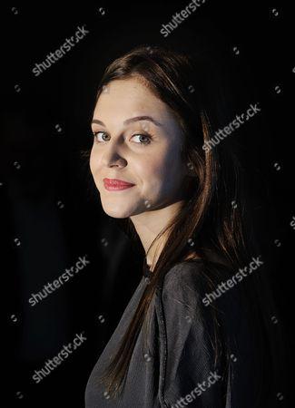 Stock Photo of Pauline Burlet at the Grand Hyatt Hotel