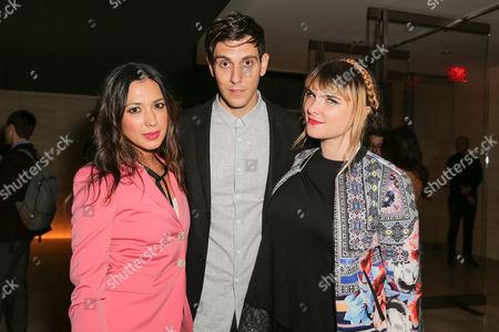 Michelle Branch, Gabe Saporta, Victoria Asher
