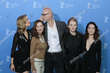 Stock Image of Actors Dounia Sichov, Simone-Elise Girard, James Hyndman, Isolda Dychauk and Laetitia Isambert-Denis