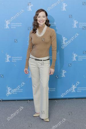 Actress Simone-Elise Girard