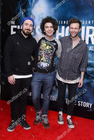 Stock Photo of Dru Wakely, Stefan Abingdon and Ashley Horne