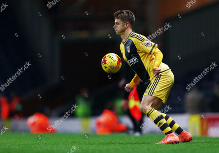 Alex Kacaniklic of Fulham during the Sky Bet Championship match between Blackburn Rovers and Fulham played at Ewood Park, Blackburn on February 16th 2016