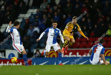 Stock Picture of Alex Kacaniklic of Fulham during the Sky Bet Championship match between Blackburn Rovers and Fulham played at Ewood Park, Blackburn on February 16th 2016