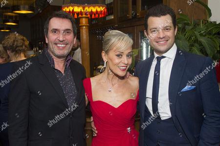 Gareth Snook, Tracie Bennett (Laura Henderson) and Simon Bailey