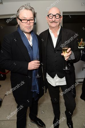David Downton and Tony Glenville