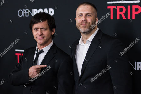Stock Picture of Clifton Collins Jr. and Adam G. Simon
