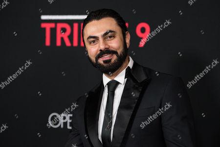 Editorial image of 'Triple 9' film premiere, Los Angeles, America - 16 Feb 2016