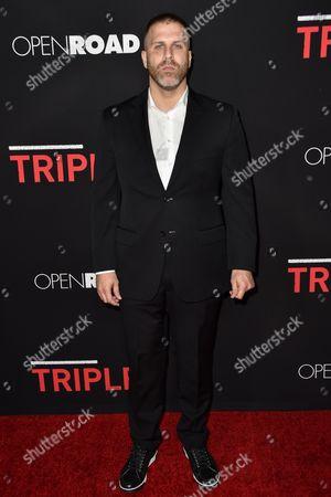 Editorial photo of 'Triple 9' film premiere, Los Angeles, America - 16 Feb 2016