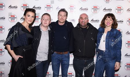 Joe Dempsie, Jo Hartley, Shane Meadows, Thomas Turgoose and Vicky McClure