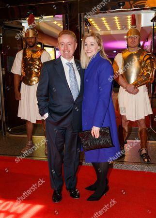 Mark Millar and Lucy Millar