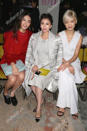 Bonnie Chen, Alyssa Chia and Kiki Kang