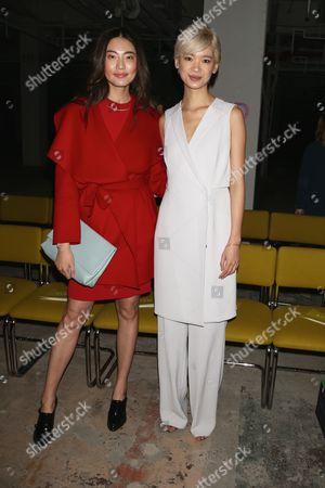 Bonnie Chen and Kiki Kang