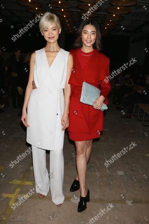 Stock Image of Kiki Kang and Bonnie Chen