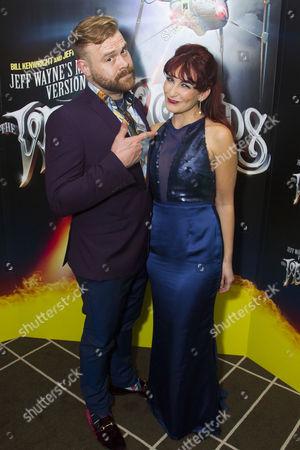 Daniel Bedingfield (The Artilleryman) and Madalena Alberto (Carrie)