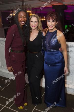 Beverley Knight, Heidi Range (Beth) and Madalena Alberto (Carrie)