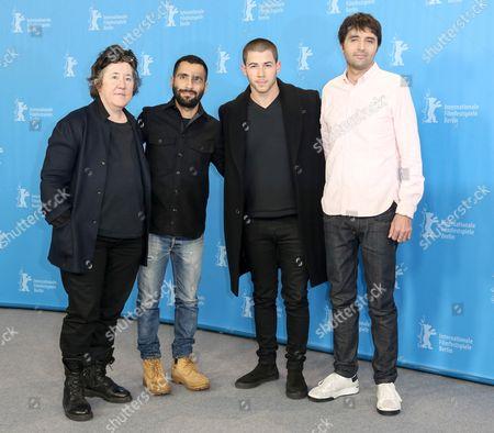 Christine Vachon, David Hinojosa, Nick Jonas and Andrew Neel