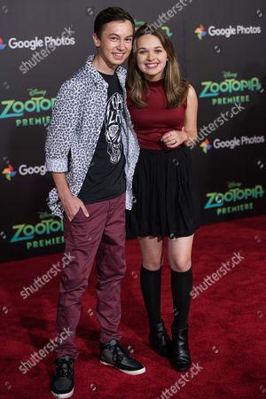 Hayden Byerly and Alyssa Jirrels
