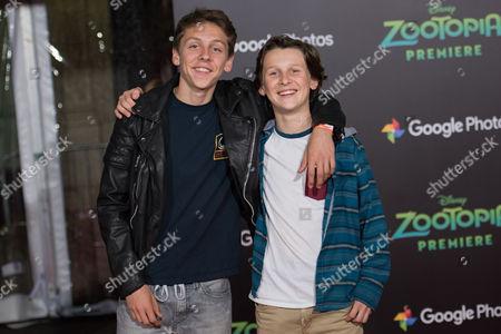 Jacob Bertrand and Blake Bertrand