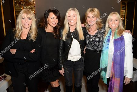 Jo Wood, Lizzie Cundy, Angie Best, Anthea Turner and Susan George