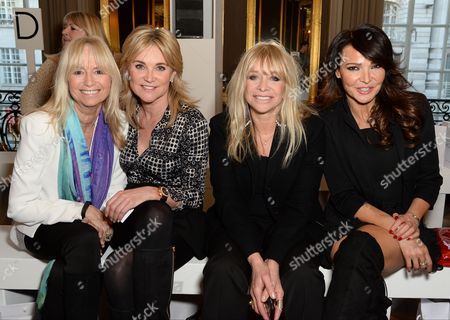 Susan George, Anthea Turner, Jo Wood and Lizzie Cundy
