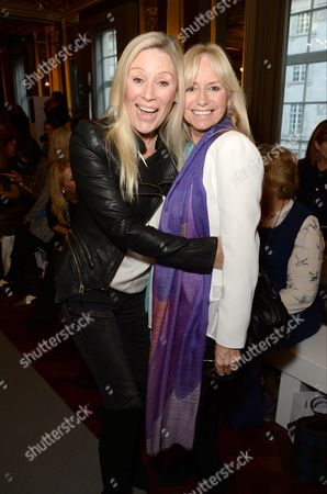 Angie Best and Susan George