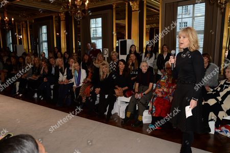 Editorial picture of Fifty Plus Show, Autumn Winter 2016, London Fashion Week, Britain - 18 Feb 2016