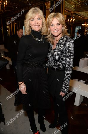 Angela Spindler and Anthea Turner