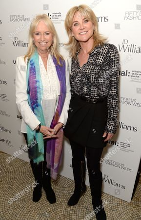 Susan George and Anthea Turner