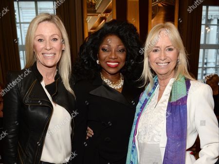Angie Best, Patti Boulaye and Susan George