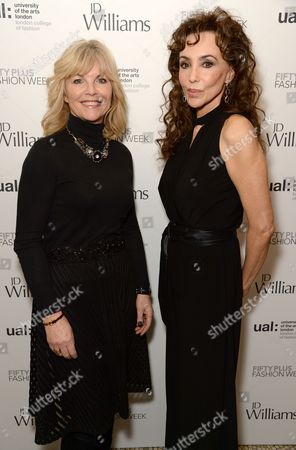 Stock Picture of Angela Spindler and Marie Helvin