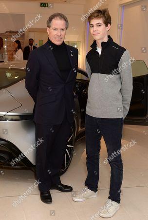 Viscount David Linley and Charles Armstrong-Jones