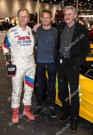 Ari Vatanen, Jenson Button and Gordon Murray