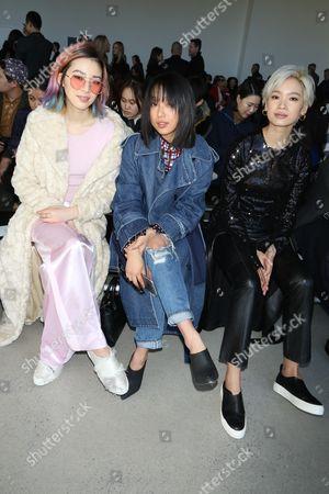 Irene Kim, Margaret Zhang and Kiki Kang