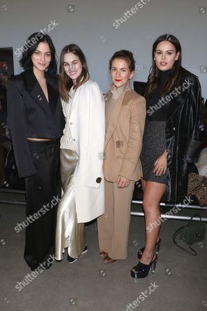 Leigh Lezark, Laura Love, Claire Distenfeld and Atlanta de Cadenet Taylor