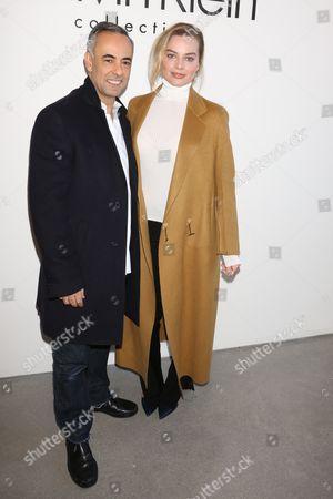 Francisco Costa and Margot Robbie