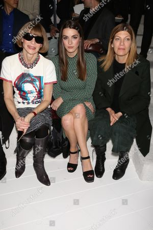 Anna Wintour, Bee Shaffer and Virginia Smith