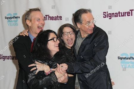 Editorial picture of 'Old Hats' Off-Broadway play opening night, New York, America - 18 Feb 2016