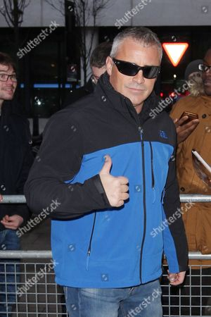 Editorial photo of Matt Le Blanc out and about, London, Britain - 19 Feb 2016