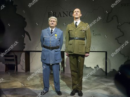 Editorial photo of 'The Patriotic Traitor' Play written and directed by Jonathan Lynn performed at the Park Theatre, London,UK, 18 Feb 2016