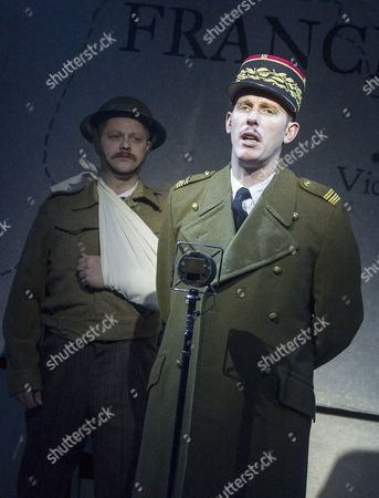 James Chalmers  Laurence Fox as Charles de Gaulle